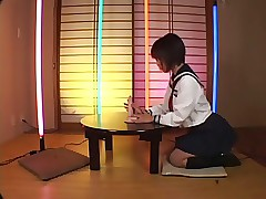 Japanese Schoolgirl Sucking..