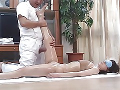Randy Japanese Wives Massaged..