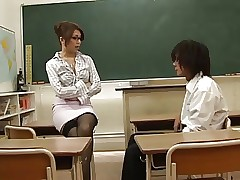 Asian Instructor Seduced Hard..