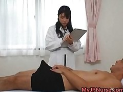 Busty X Japanese nurses sucking