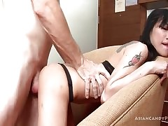 Preposterous Asian gets fucked