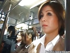 Asian babe in arms has tutor b..