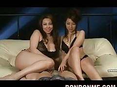 Sultry Asian sluts swell up &..