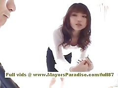 Risa Kasumi asian teen gets..
