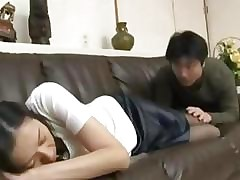 Japanese ugly housewife hardcore