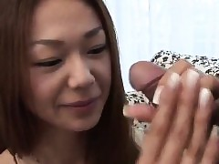Serina Hayakawa pleases wth the..