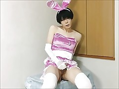 Hot Asian Crossdresser Jerks..