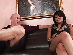 Teeny Asina hooker gets their..