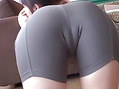 softcore asian spandex..