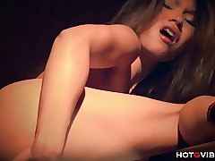 Young Asian Nympho Squirting..