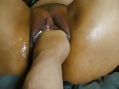 Asian Young Explicit Fisting