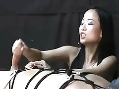 Asian latitudinarian tormenting..