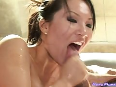 Down in the mouth Asian Asa is..