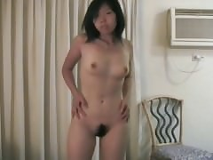 Hot asian stripetease