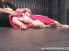 Asian streetwalker has a bdsm..