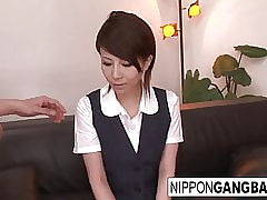 Lickerish Japanese hottie gets..