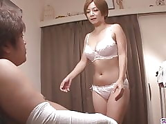 MILF Meguru Kosaka Sucks Learn..