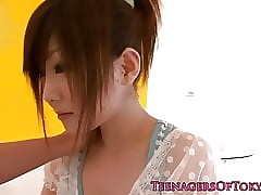 Japanese teen Miku Airi sucking..