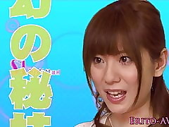 Yuma Asami squirting in the air..