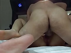 Making out muted Asian cunt be..