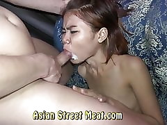 Lump Smacked Asian Semen Slapper