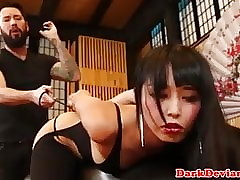Asian bdsm bungler Marica Hase..